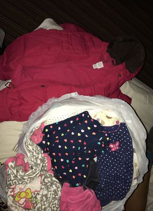 Bag 0-6months baby girl clothes with coat for Sale in Washington, DC