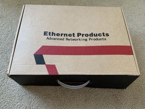 8 ports 10/100m poe switch with 2 gigabit uplinks for Sale in Seattle, WA