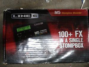 M5 line6 stompbox for Sale in Pineville, LA