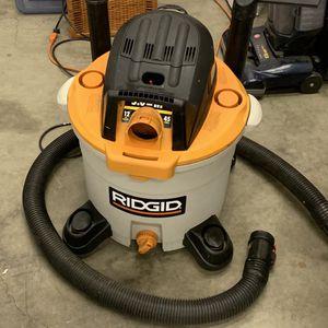 12 Gal. 5.0-Peak HP NXT Wet/Dry Shop Vacuum for Sale in Lemoyne, PA