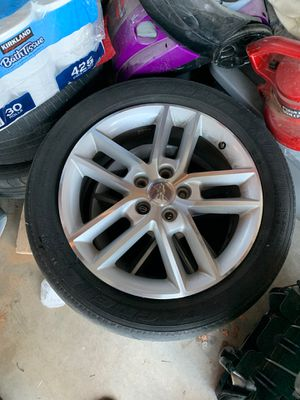 4 Chevy Impala Rims 1 cop rim with Tires for Sale in Fresno, CA