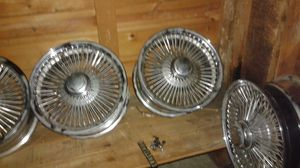15 in front wheel drive spokes for Sale in Chicago, IL