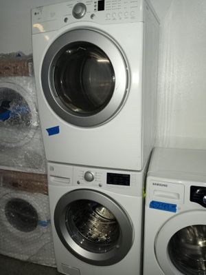 MIX AND MATCH WASHER AND DRYER SET IN EXCELLENT CONDITION 4 MONTHS WARRANTY for Sale in Baltimore, MD