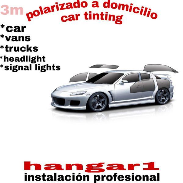 Polarizado a domicilio/car tinting español/inglés
