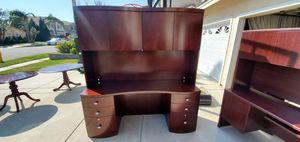 Beautiful cherrywood office desk for Sale in Rancho Cucamonga, CA