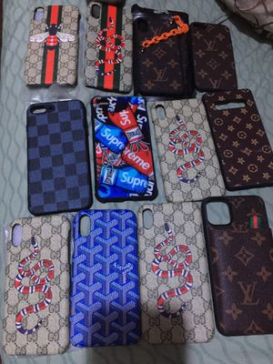 New iPhone cases x xs xsmax iPhone 11 pro 11 pro max 15 each or 2 for 25 for Sale in KIMBERLIN HGT, TN