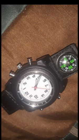 Watch with compass on the side battery included ⌚ for Sale in Manteca, CA
