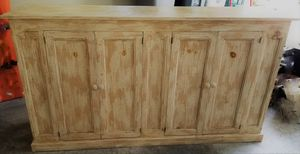 Shabby Chic Cupboard or Hutch/Cabinet/Bar/Island for Sale in Port Orchard, WA