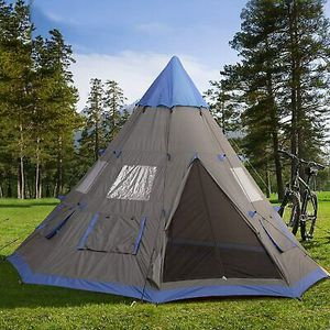 6-Person Metal Teepee Camping Tent Outdoor Use for Sale in Los Angeles, CA