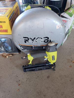 Air compressor with nail gun for Sale in La Plata, MD