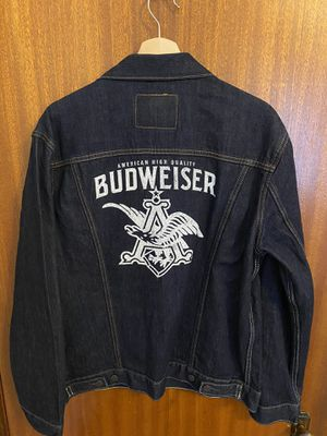 Levi Denim Budweiser Jacket (never worn) for Sale in St. Louis, MO