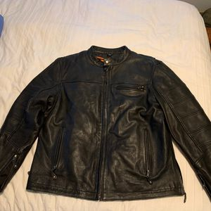 First Manufacturing Leather Motorcycle Jacket XXl for Sale in Salt Lake City, UT