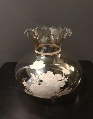 Vintage Glass Lamp Shade for Sale in Simpsonville, SC