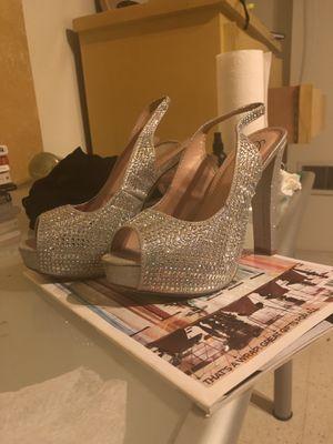 Sequined Camille La Vie Heels (Size 8) for Sale in Philadelphia, PA