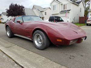 Parts Fix Up or Drive: 1976 Corvette 4 speed manual t tops for Sale in Federal Way, WA