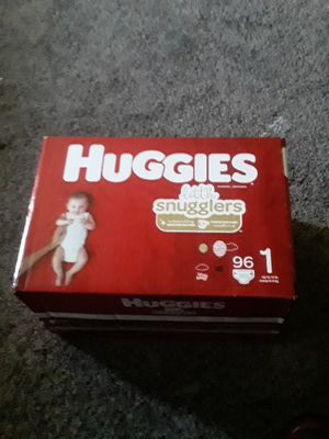 Diapers size 1 96 count for Sale in Medford, MA
