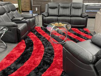 3PC Black Sofa Living Room Set for Sale in Fresno,  CA