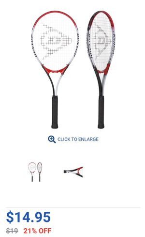 NEW (2) Dunlop Nitro Tennis rackets for Sale in Torrance, CA