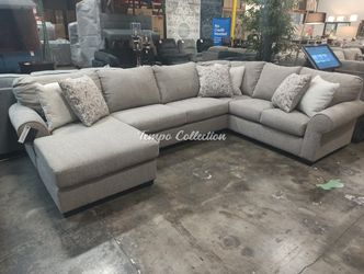 New Sectional Sofa, Stone, SKU# ASH51503LAFTC for Sale in Santa Fe Springs,  CA