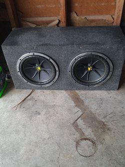 """Kicker Speakers. 10"""" for Sale in Stockton,  CA"""