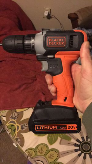 Black + Decker drill & two wood burners for Sale in Ankeny, IA