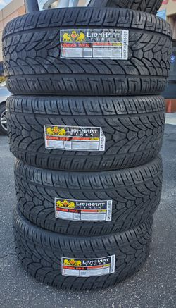 295 35 24 LIONHART TIRES for Sale in Rancho Cucamonga,  CA
