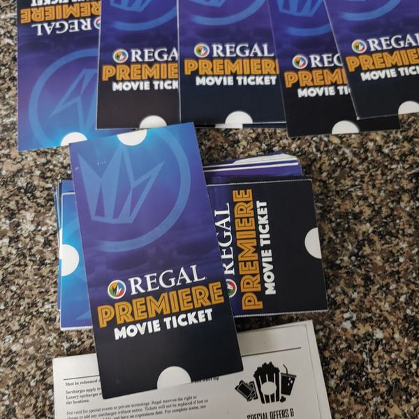 Movie tickets cheap and lots available!