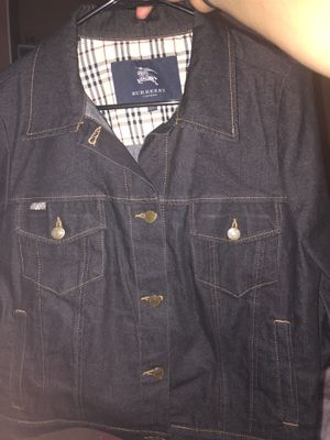 Burberry London Denim Jacket for Sale in Brea, CA
