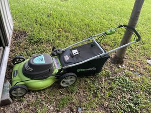 Greenworks electric corded lawn mower for Sale in South Miami, FL