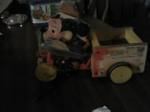 1956 Disney Mickey mouse safety patrol with siren Fisher price for Sale in Louisville, KY
