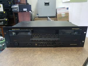 Marantz PMD500U Stereo Double Cassette Deck for Sale in St. Louis, MO