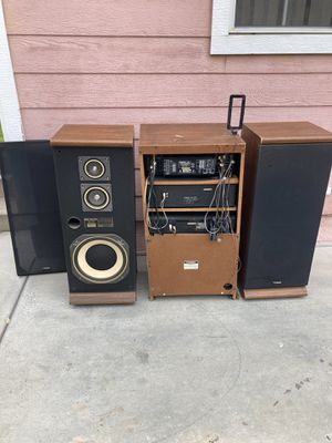 Fisher stereo system vintage 1980s' model # RS-853 for Sale in Whittier, CA