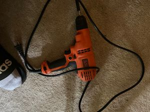 Black decker drill for Sale in Laurel, MD