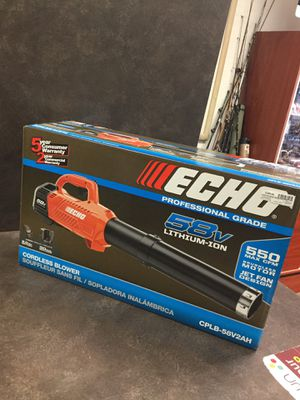 Echo Cordless Leaf Blower Professional Grade 550 MAX CFM - Model # CPLB-58V2AH for Sale in Whittier, CA