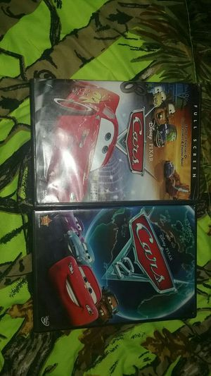 Cars dvds 1&2 for Sale in Evansville, IN