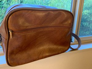 Leather Brown Messenger for Sale in Portland, OR