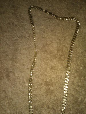 Cuban link gold plated chain for Sale in Montclair, CA