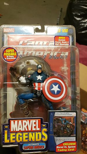 Marvel Legends Ultimate Captain America for Sale in Alameda, CA