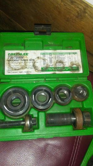 Greenlee knockout sets for Sale in Dublin, GA