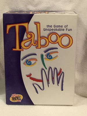 Taboo Adult board game. for Sale in Clermont, FL