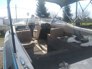 1986 galexy 21 ft 350 motor with trailer for Sale in Acampo, CA