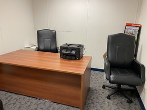 Office furniture & printer for Sale in Doraville, GA