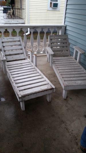 wooden patio furniture for Sale in Wood River, IL