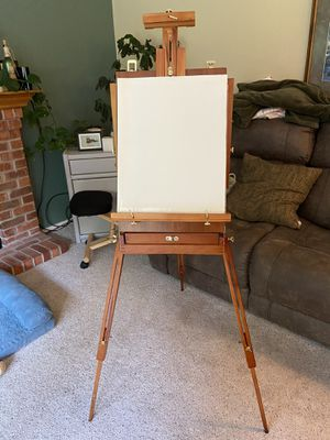 Portable easel suitcase. PENDING PICKUP for Sale in Kent, WA