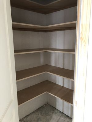 Shelves , doors , pantry , wall chair rail for Sale in Fort Worth, TX