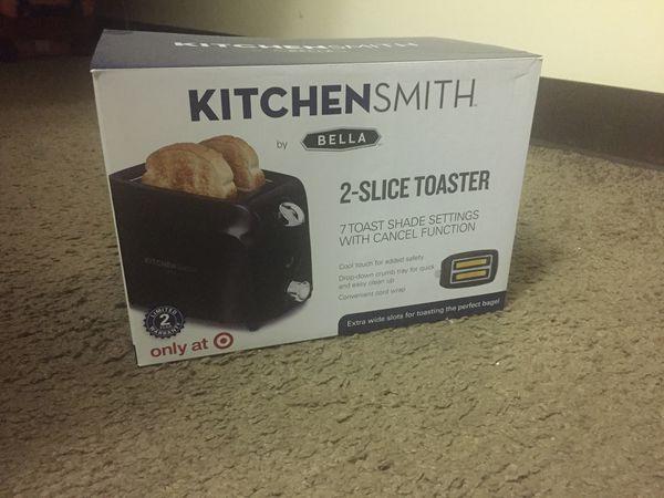 Kitchensmith toaster.