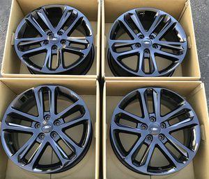 "18"" Ford Explorer factory wheels rims gloss black new for Sale in Santa Ana, CA"