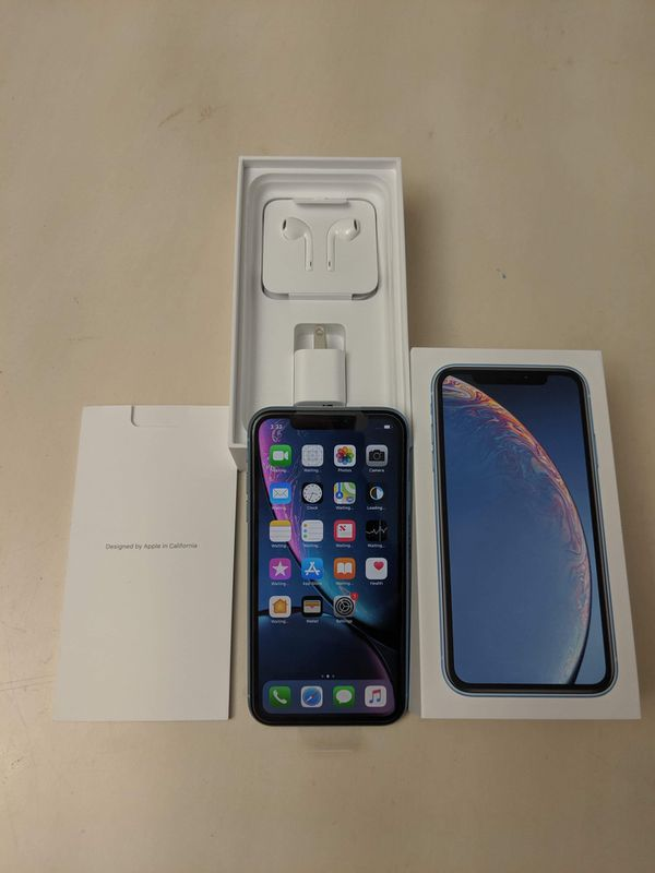 iPhone XR 256gb at&t