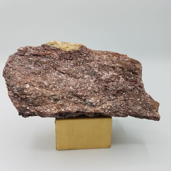 Valentine's Day Gift for a Geologist. Pink colored micaceous rock specimen.