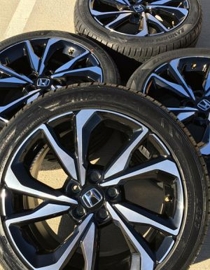 Gloss Black Machined Aluminum Alloy $200 Genuine OEM Rimis&Tires for Sale in Anchorage, AK